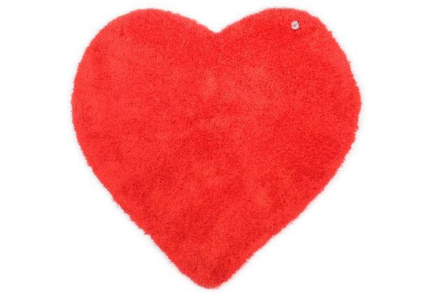 Tom Tailor Kinderteppich Soft Herz rot 100cm
