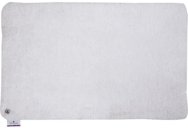 Tom Tailor Badteppich Soft Bath uni 101 weiss 60 cm x 60 cm