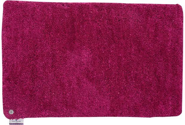 Tom Tailor Badteppich Soft Bath uni 240 pink 60 cm x 60 cm