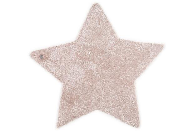 Tom Tailor Kinderteppich Soft Stern beige 100cm