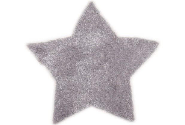 Tom Tailor Kinderteppich Soft Stern grau 100cm
