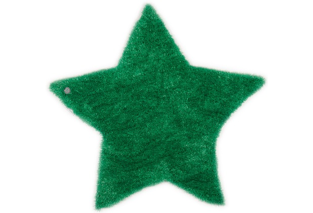 Tom Tailor Kinderteppich Soft Stern gruen 100cm