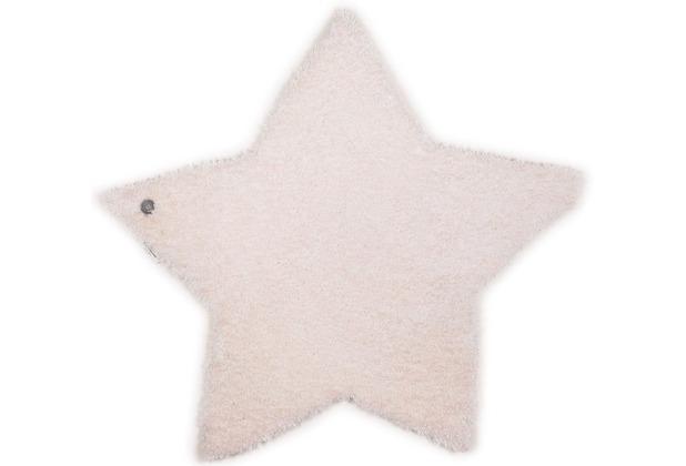 Tom Tailor Kinderteppich Soft Stern weis 100cm