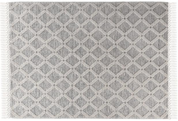 Tom Tailor Handwebteppich Colored Macrame One natural 65 x 135 cm