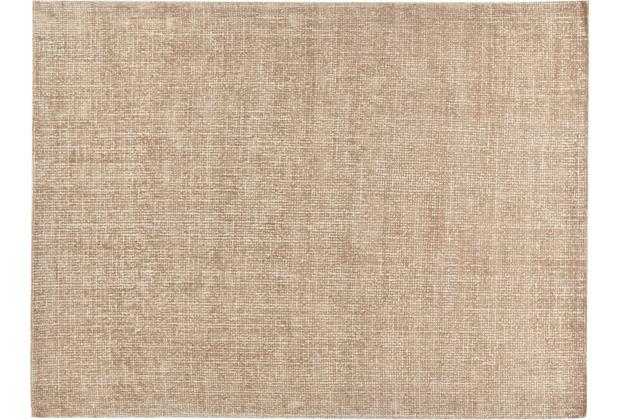 Tom Tailor Teppich Groove UNI brown 65 x 135 cm