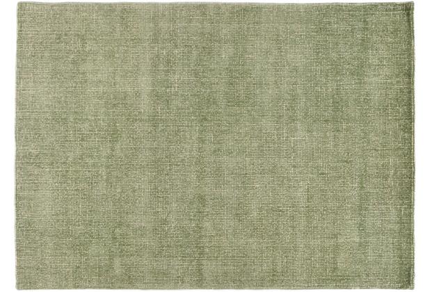 Tom Tailor Teppich Groove UNI green 65 x 135 cm
