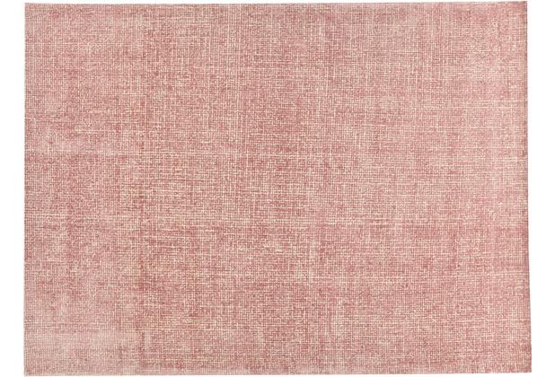 Tom Tailor Teppich Groove UNI rose 65 x 135 cm