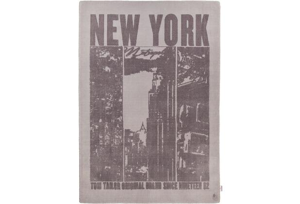 Tom Tailor Teppich Happy New York grau 65cm x 135cm