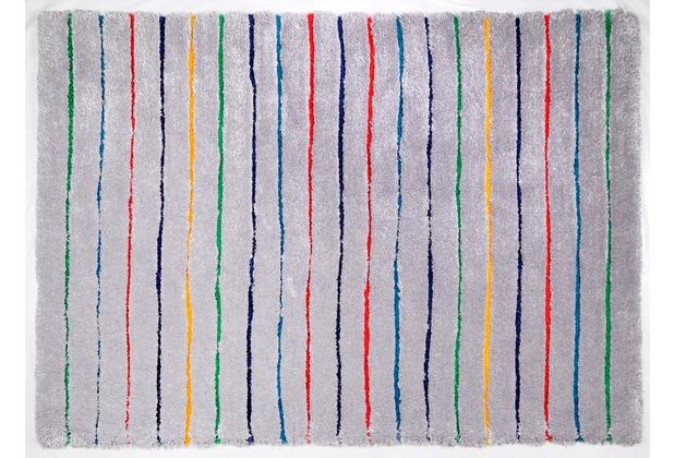 Tom Tailor Teppich Soft Hidden Sts grau 140cm x 200cm