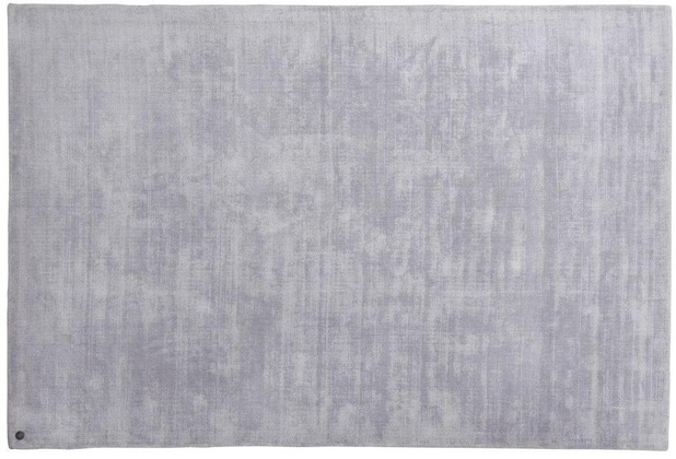 Tom Tailor Viskose-Teppich Shine, uni, 641 silber 140 cm x 200 cm