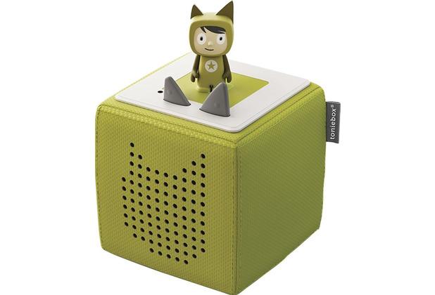 Tonies Starterset (Toniebox + Kreativ-Tonie-Hörfigur), grün