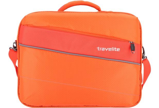 travelite Kite Flugumhänger 41 cm Laptopfach orange