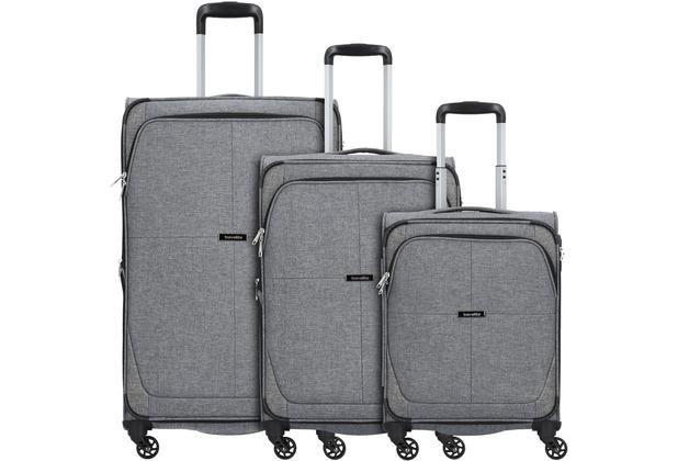 travelite Nida 4-Rollen Kofferset 3tlg. anthrazit