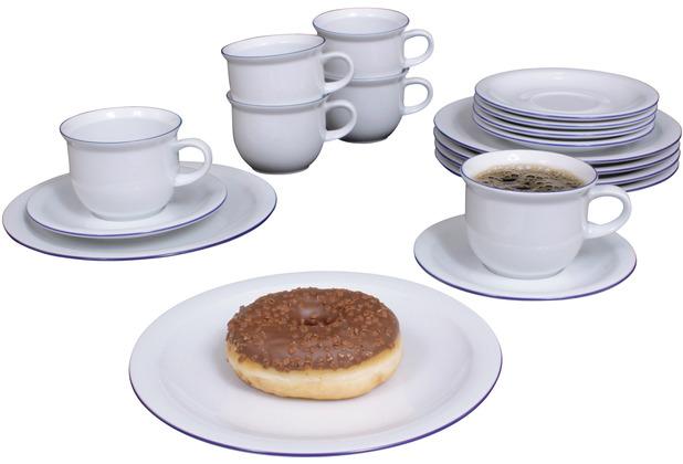 Triptis Today Westerland Kaffeeservice für 6 Personen 18-teilig