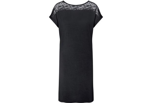 Triumph Amourette Nachthemd (Strickware), Kurzarm black 38