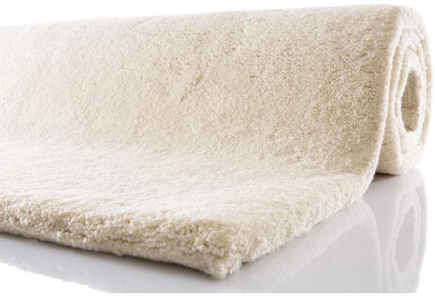 Tuaroc Berberteppich Safi mit ca. 194.000 Florfäden/m² wollweiß 70 cm x 140 cm