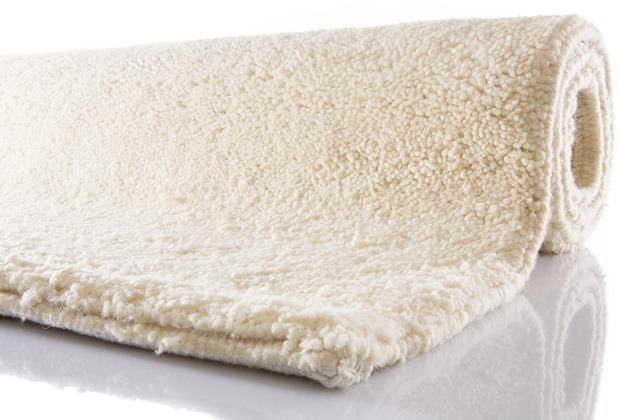 Tuaroc Berberteppich Tizni mit ca. 51.000 Florfäden/m² wollweiß 60 cm x 90 cm