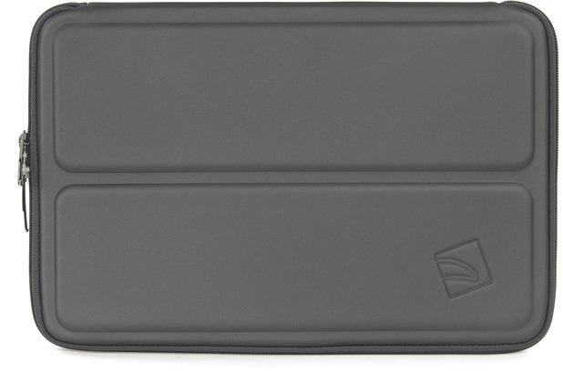 Tucano Cargo Sleeve für MacBook 12 Zoll, MacBook Air 11 Zoll mit Stand UP System, grau