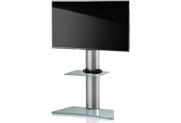 vcm tv standfu findal mattglas mit zwischenboden inkl rollen. Black Bedroom Furniture Sets. Home Design Ideas