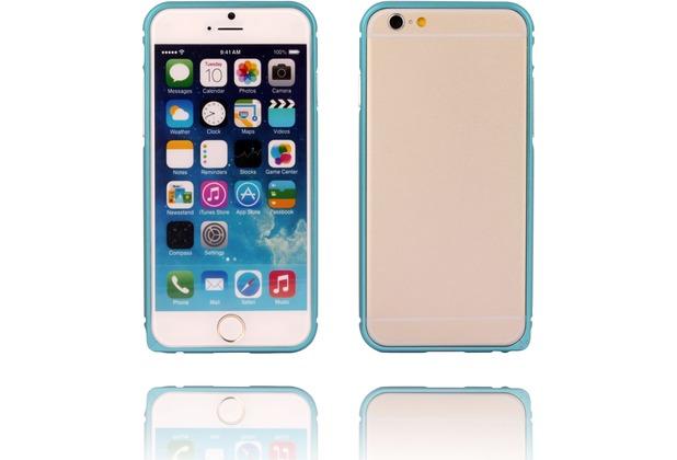 Twins Aluminium Bumper für iPhone 6, blau