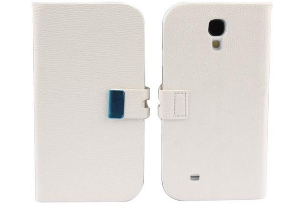 Twins BookFlip für Samsung Galaxy S4, weiß