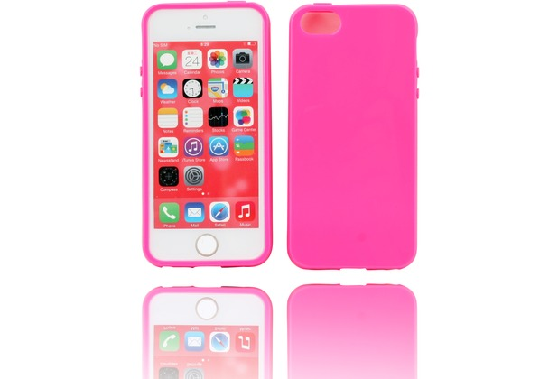 Twins Bright für iPhone 5/5S/SE, pink