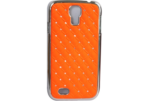 Twins BlingClip für Samsung Galaxy S4, orange