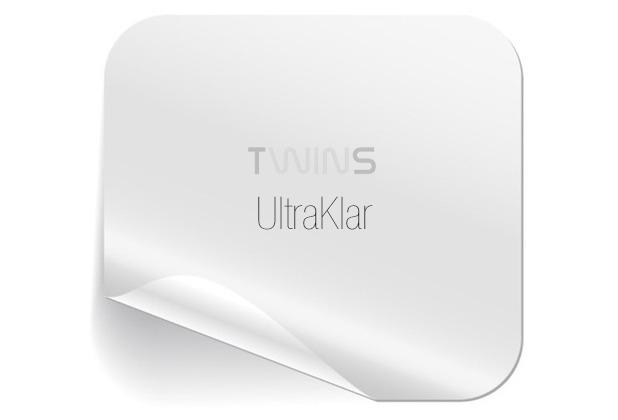Twins Rückseiten-Schutzfolie UltraKlar für iPhone 5S