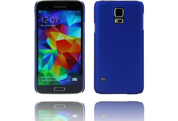 Twins Hardcase Softtouch für Galaxy S5,blau