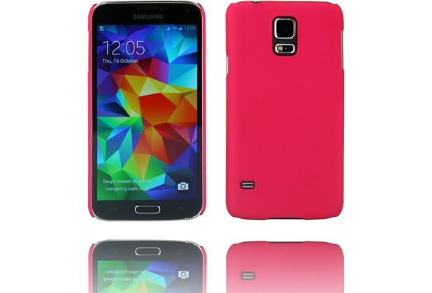 Twins Hardcase Softtouch für Galaxy S5, rose