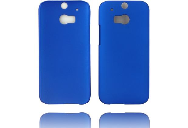 Twins Hardcase Softtouch für HTC M8,blau