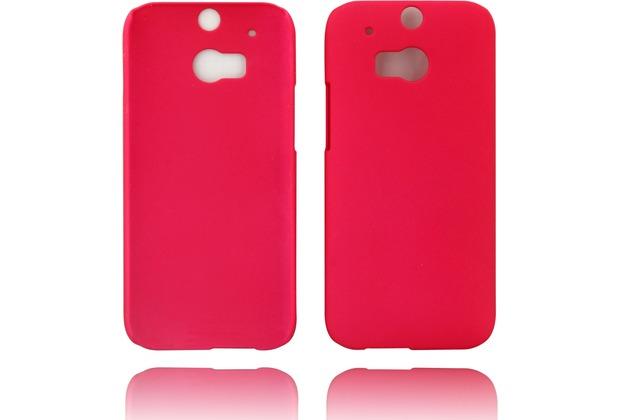 Twins Hardcase Softtouch für HTC M8,rose