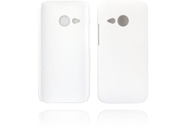 Twins Hardcase Softtouch für HTC mini2,weiß