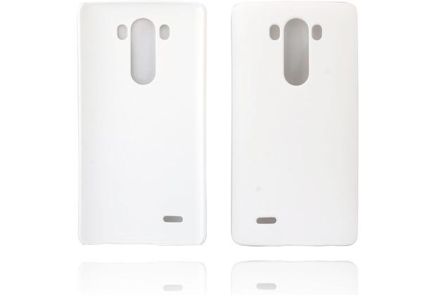 Twins Hardcase Softtouch für LG G3,weiß