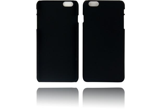 Twins Rubber oil finished Case für iPhone 6 Plus schwarz Matt