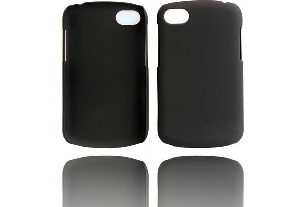 Twins Shield Matte für Blackberry Q10, schwarz