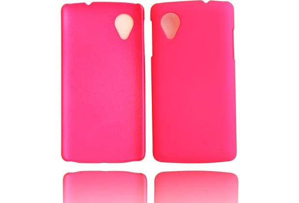 Twins Shield Matte für Google Nexus 5, pink