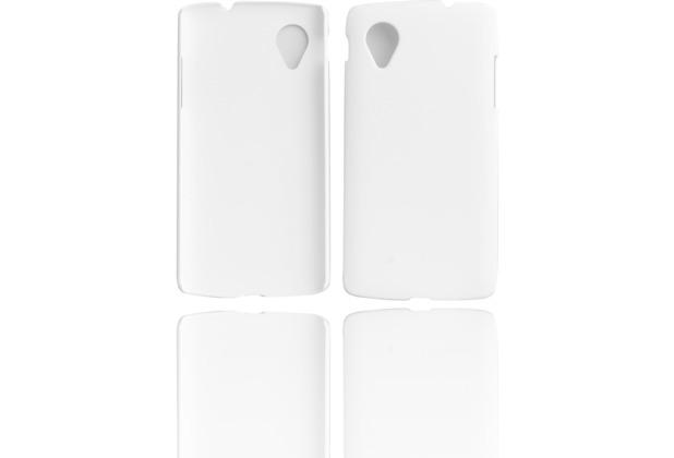 Twins Shield Matte für Google Nexus 5, weiß