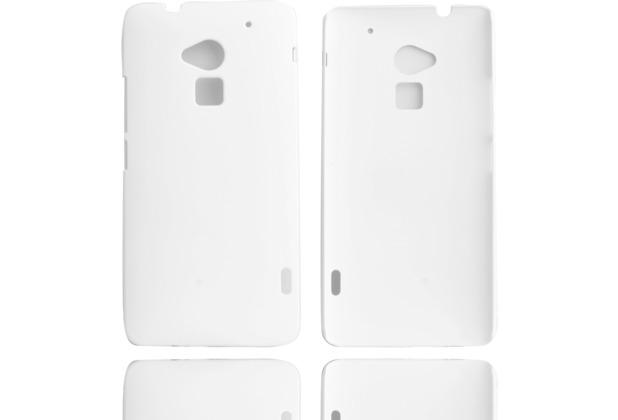 Twins Shield Matte für HTC One max, weiß