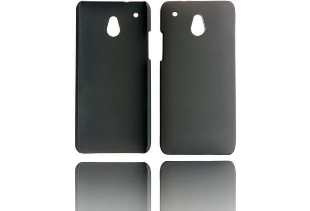 Twins Shield Matte für HTC One mini, schwarz