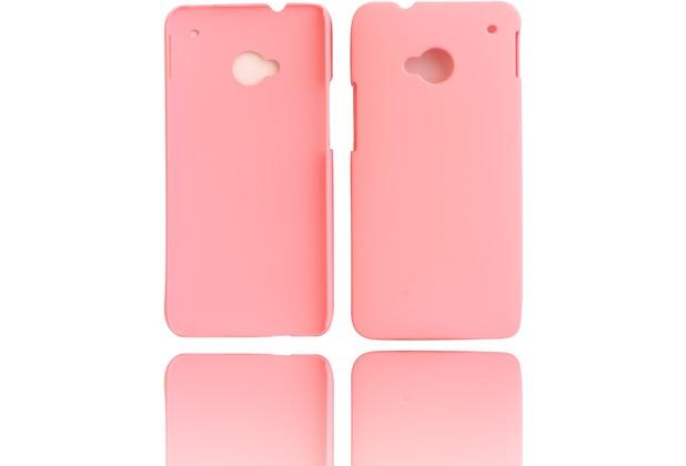 Twins Shield Matte für HTC One (M7), pink