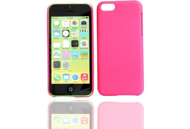 Twins Shield Matte für iPhone 5C, pink
