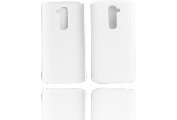 Twins Shield Matte für LG G2, weiß
