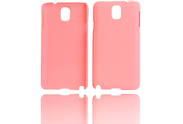 Twins Shield Matte für Samsung Galaxy Note 3, pink