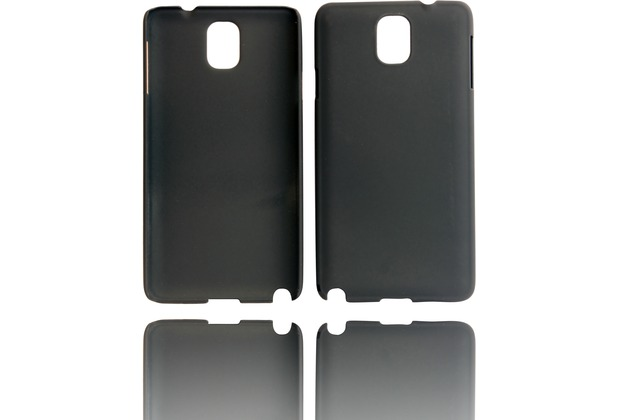 Twins Shield Matte für Samsung Galaxy Note 3, schwarz