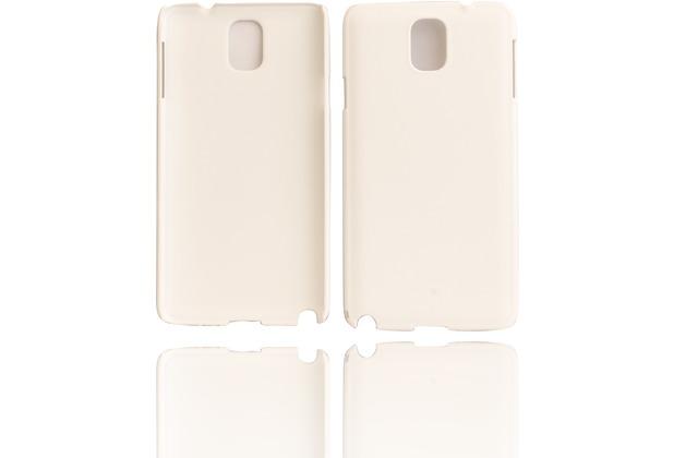 Twins Shield Matte für Samsung Galaxy Note 3, weiß