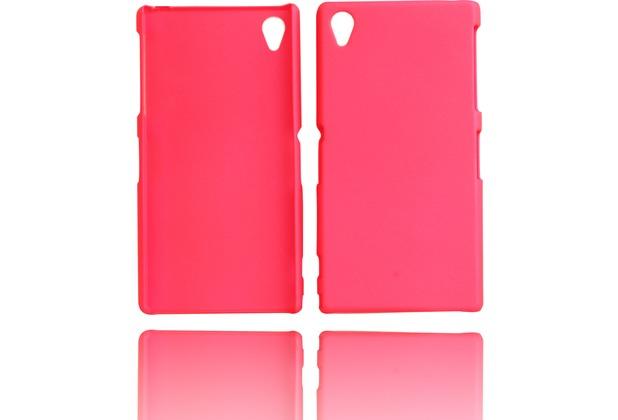 Twins Shield Matte für Sony Xperia Z1, pink