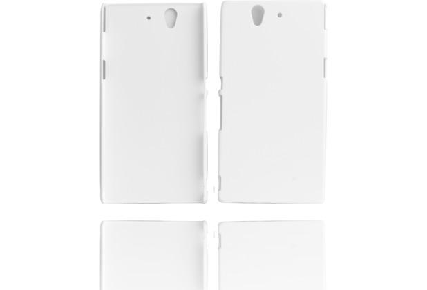 Twins Shield Matte für Sony Xperia Z, weiß