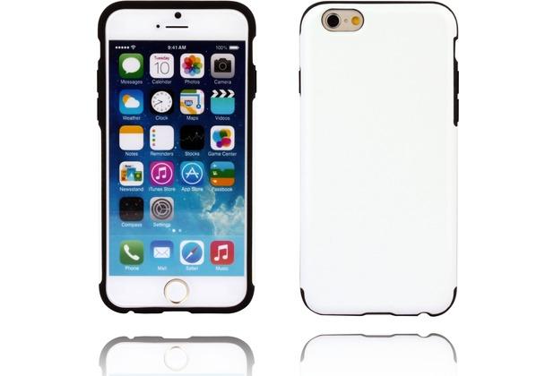 Twins Shield Matte Lederoptik für iPhone 6 Plus,schwarz,weiß