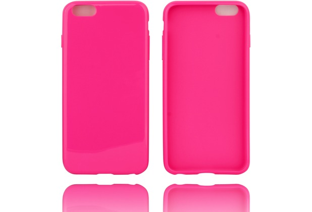 Twins Silicon Case für iPhone 6 Plus,pink